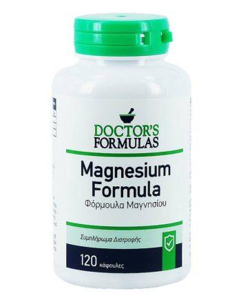 Doctor's-Formulas-Magnesium-120-tabs-e-sante.gr
