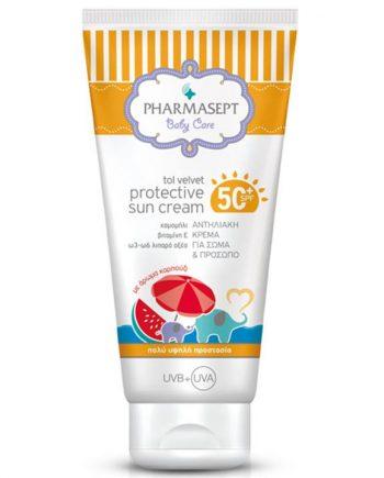 pharmasept_tol_velvet_ baby protective_sun_cream_spf50_150ml_n