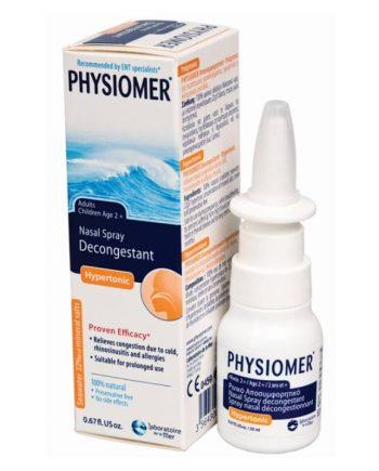 physiomer hypertonic nasal spray 2+ 20ml