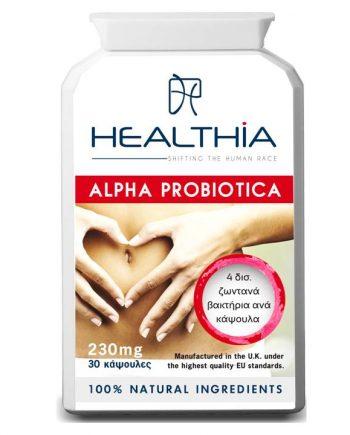 Healthia-Alpha-Probiotica-230mg-30 caps