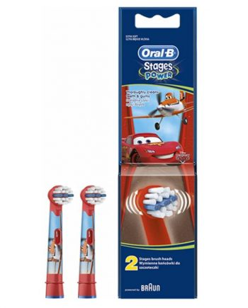 Oral-B Ανταλλακτικές Παιδικές Κεφαλές Cars 2 τμχ