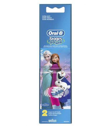Oral-B Ανταλλακτικές Παιδικές Κεφαλές Frozen 2 τμχ
