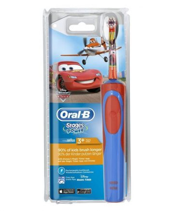 Oral-B-Stages-Power-Cars-Παιδική-Επαναφορτιζόμενη-Οδοντόβουρτσα-3+ ετών