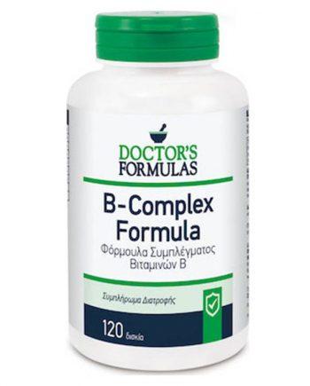 Doctor's-Formulas-B-Complex-Formula-120 tabs-e-sante.gr