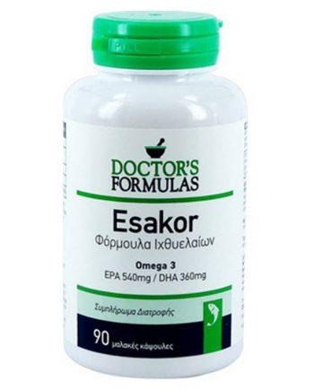 Doctor's-Formulas-Esakor-Ω-3-90 caps-e-sante.gr