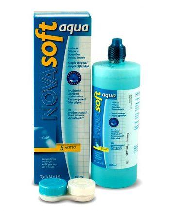 NovaSoft-Aqua-Υγρό-Φακών-Επαφής-360-ml-e-sante.gr