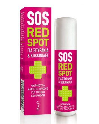 Pharmasept Tol Velvet SOS Red Spot Roll-on για Σπυράκια και Κοκκινίλες 15 ml