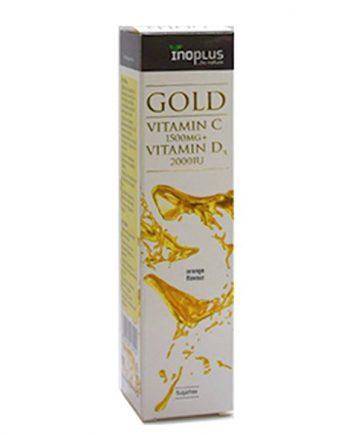 Inoplus-Gold-Vitamin-C-1500mg-Vitamin-D3-2000iu-20-eff-tabs-e-sante.gr