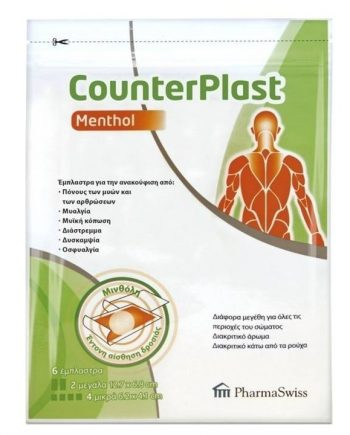PharmaSwiss-CounterPlast-Menthol-6-τμχ-e-sante.gr