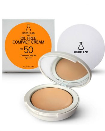 Youth-Lab-Oil-Free-Compact-Cream-Spf50-Combination-Oily-skin-Light-Colour-10gr-e-sante.gr