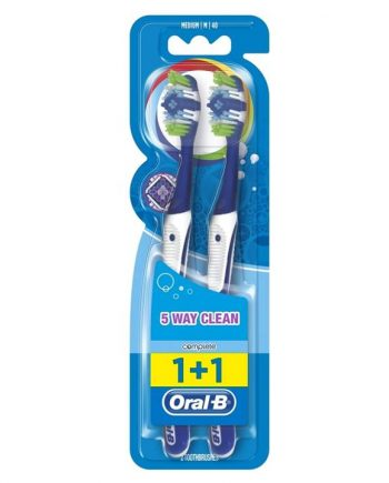 Oral-B-Complete-Clean-5-Way-40-Medium-Οδοντόβουρτσα-2τμχ-e-sante.gr