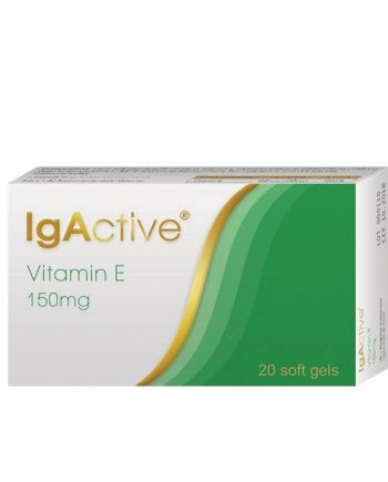 Igactive-Vitamin-E-150mg-20-soft-caps-e-sante.gr