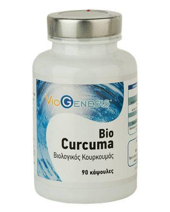 Viogenesis-Curcuma-Bio-550mg-90-caps-e-sante.gr
