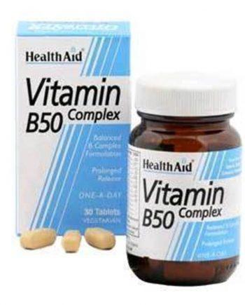 Health-Aid-B50-Complex-30-Caps-e-sante.gr