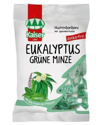 Kaiser-Grune-Minze-Eukalyptus-Citrus-Καραμέλες-Δυόσμο-Ευκάλυπτο-Lime-60gr-e-sante.gr