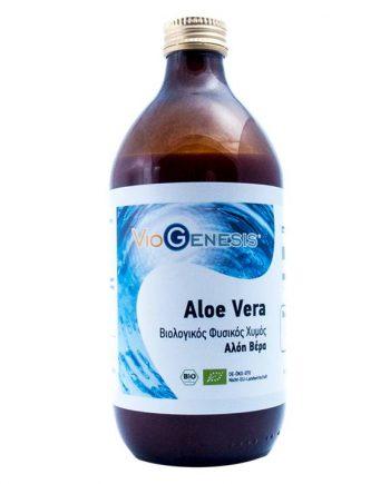 Viogenesis-Aloe-Vera-Juice-500ml-e-sante.gr