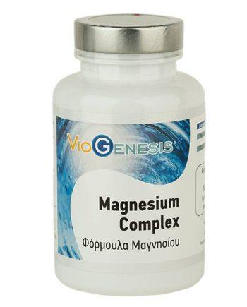 Viogenesis-Magnesium-Complex-120-Caps-e-sante.gr