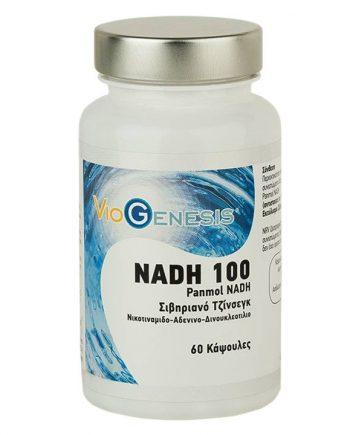 Viogenesis-NADH-100-Panmol-Siberian-Ginseng-60-Caps-e-sante.gr