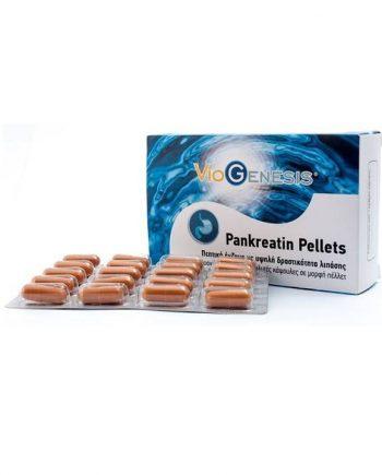Viogenesis-Pankreatin-Pellets-60-Caps-e-sante.gr