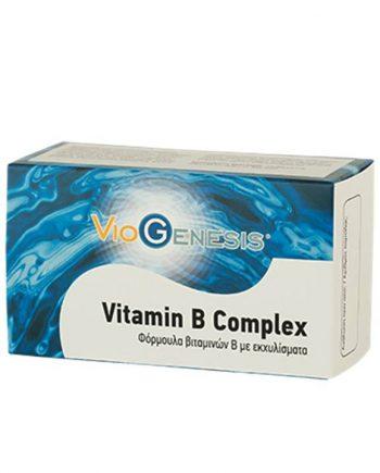Viogenesis-Vitamin-B-Complex-60-Caps-e-sante.gr