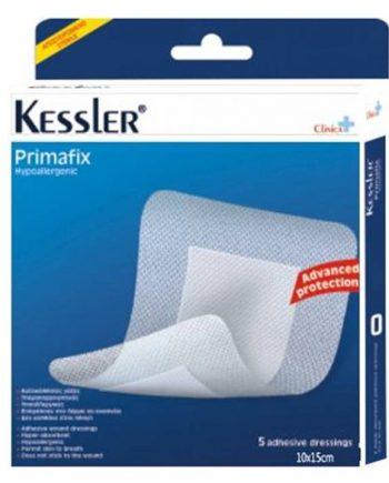 Kessler-Primafix-Αυτοκόλλητες-Γάζες-10x15cm-5τμχ-e-sante,gr