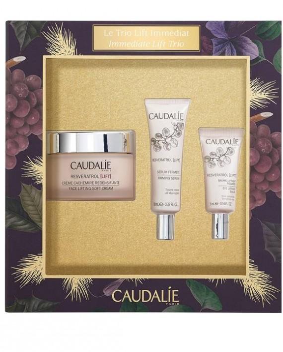 Caudalie-Immediate-Lift-Trio-Resveratrol-Face-Lifting-Soft-Cream-50ml-Firming-Serum-10ml-Eye-Lifting-Balm-5ml-e-sante.gr