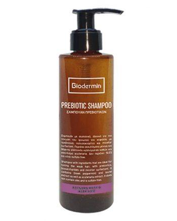 Biodermin-Prebiotic-Shampoo-Αδύναμα-Μαλλιά-e-sante.gr