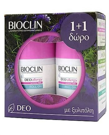 Bioclin-Deo-Allergy-Roll-On 2x50ml-e-sante.gr