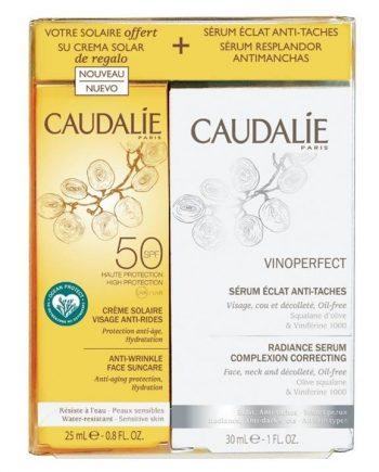 caudalie-set-vinoperfect-radiance-serum-30ml-Anti-Wrinkle-Face-Suncare-Spf50-25ml-e-sante.gr