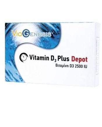 VioGenesis-Vitamin-D3-Plus-Depot-2500iu-90-tabs-e-sante.gr