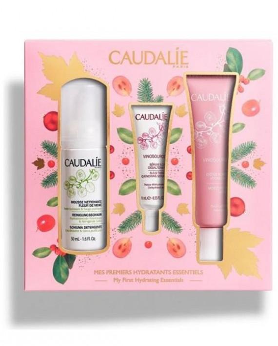 Caudalie-Vinosource-Moisturizing-Sorbet 40ml-Instant-Foaming-Cleanser-50ml-Cleansing-Foam-50ml-e-sante.gr
